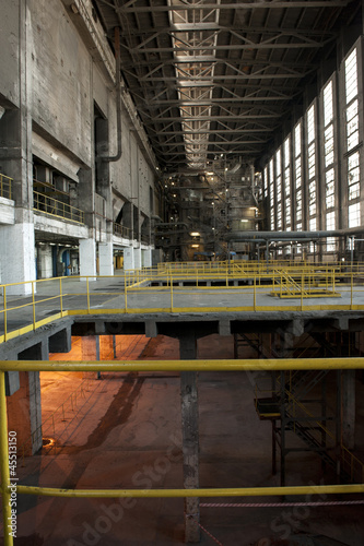 In de dag production hall
