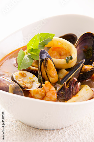 Cioppino Suppe