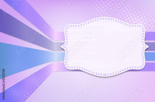 Retro grungy background with frame for your message