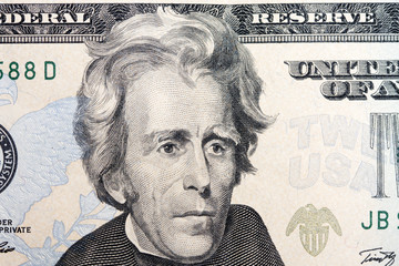 jackson on the twenty dollar bill