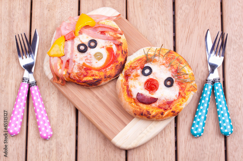 mini pizzas - 45515127
