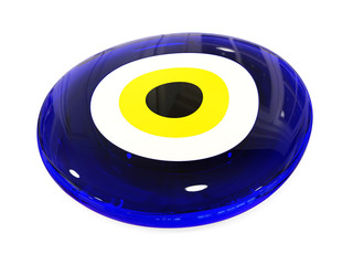 Evil eye amulet protect from bad things using by turkish culture