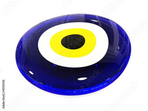 Leinwandbild Motiv Evil eye amulet protect from bad things using by turkish culture