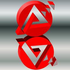 Logo Rente grau_3d