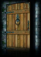 porta socchiusa
