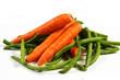 carote con fagiolini