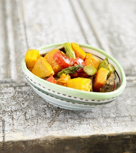 Small Bowl of Roasted Vegetables