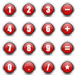 numeric icons set