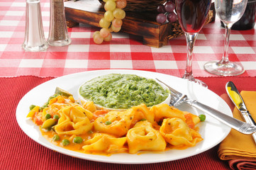 Five cheese tortellini