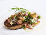 Bruschetta with herbs