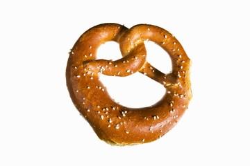 A small pretzel