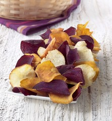 Gourmet Chips Seasoned with Sea Salt