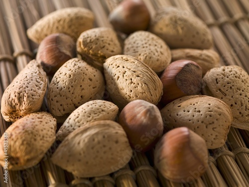 Whole Almonds and Chestnuts