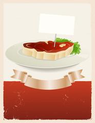 Red Meat Restaurant Banner