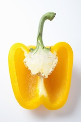 Half a yellow pepper