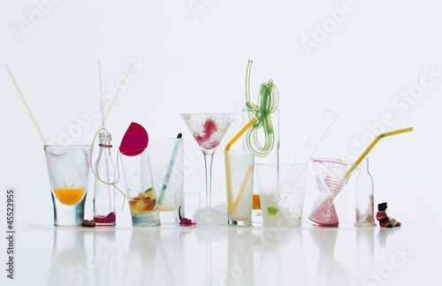 Various cocktails