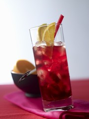 'Port in a Storm' (cocktail with port wine and cognac)