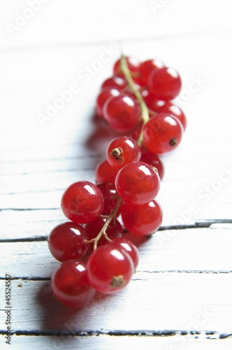 A bunch of redcurrants