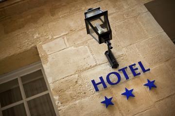 Hôtel, étoiles, façade, tourisme, entrée, normes, commerce