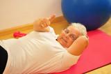 Rückengymnastik für Senioren