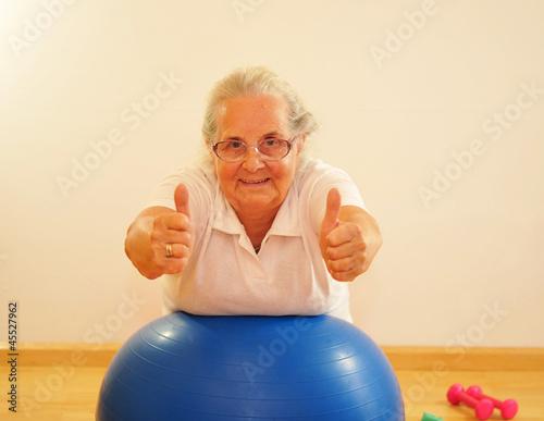 Rückenschule für Senioren