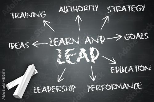 """Blackboard """"Learn And Lead"""""""