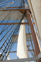 Tall Ship in Sailing Festival in San Diego California