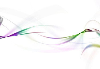 colorful Waves abstract background
