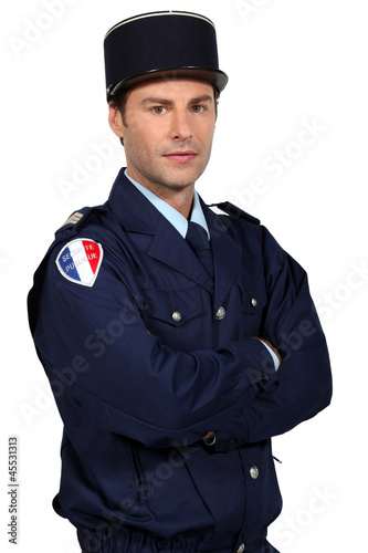 French policeman