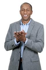 Black Man Clapping