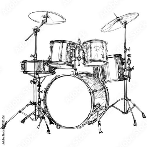 drum kit - 45533106