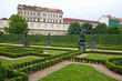 Baroque wallenstein garden at Mala strana, Prague
