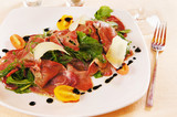 Meat appetizer Carpaccio