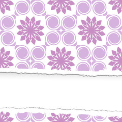 ragged seamless vector pattern.  The .eps includes seamless swat
