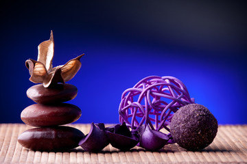 Potpourri arranged zen style