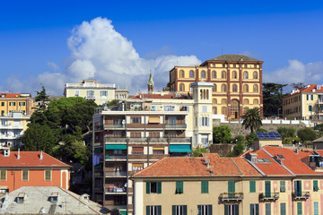 View from the port , Savona, Italy