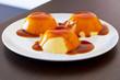 French dessert creme brulee