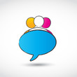chat balloon logo