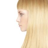 Fototapety Beautiful woman with blond healthy hair - beauty salon backgroun