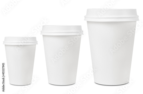 Coffee drinking cup sizes