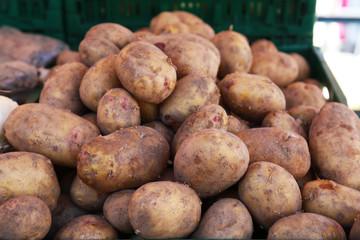 Kartoffeln auf dem Markt