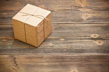 Wrapped packaged box
