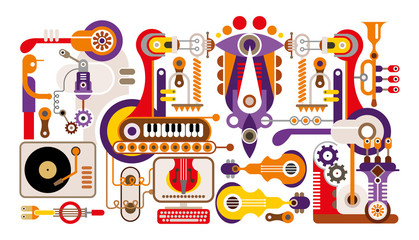 Manufacturing of music instruments