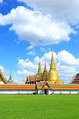 "The most beautiful  temple in Thailand called ""Wat Pra Keaw"""