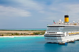 Cruise Ship in Turks and Caicos Islands