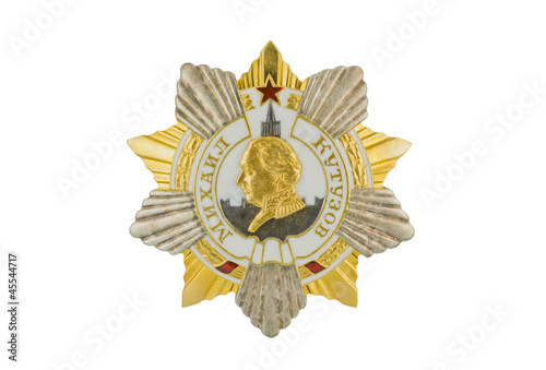 Mikhail Kutuzov Order of I degree.