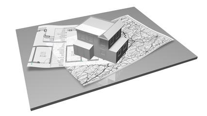 3D Design  house