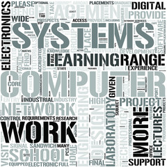 ComputerEngineering Word Cloud Concept