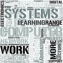 ComputerEngineering Word Cloud Concept