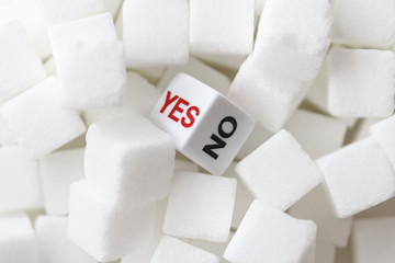 Yes or No with Cube Sugar